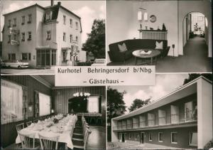 Behringersdorf-Schwaig bei Nürnberg Kurhotel Behringersdorf - 4 Bild 1963