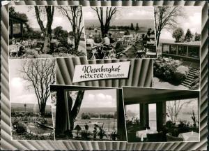 Ansichtskarte Höxter (Weser) PLÖGERS HOTEL WESERBERGHOF 1962