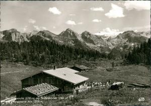 Ansichtskarte Berchtesgaden Gotzenalm (Berg, Berchtesgaden) 1964