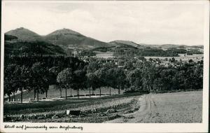 Jannowitz Riesengebirge Janowice Wielkie Blick auf die Stadt 1932