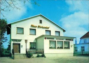 Ansichtskarte Sahlenburg-Cuxhaven Hotel Haus Birkenhof 1973