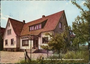 """Ansichtskarte Pivitsheide-Detmold Restaurant und Pension """"Pieperklause"""