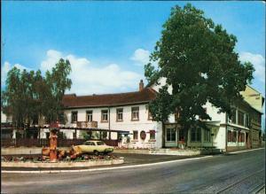 Ansichtskarte Großsachsen Gasthof zur Krone 1970