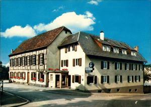 Burgheim-Lahr (Schwarzwald) Gaststätte u. Metzgerei Zum grünen Baum 1981