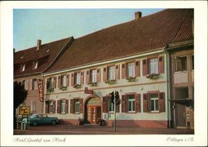 Ansichtskarte Ettlingen Hotel Gasthof Zum Hirsch Pforzheimer Straße 25 1969
