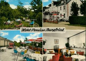 Ansichtskarte Dörbach-Salmtal Hotel - Pension Burgfried 4 Bild 1977