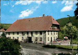 Ansichtskarte St. Märgen Gasthaus und Pension zur Sonne 1974