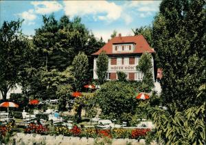 Ansichtskarte Völksen-Springe Kaffee-Restaurant ,,Höfer's Höh
