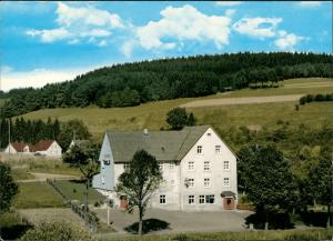 Ansichtskarte Rahrbach-Kirchhundem Gasthof u. Pension A. Conze 1978