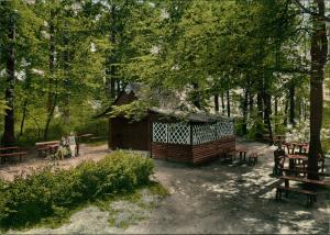 Ansichtskarte Uslar Dunischänke im Eichholz 1972