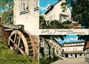Ansichtskarte Zersen-Hessisch Oldendorf Gast- und Pensionshaus Pappmühle 1975