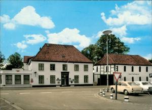 Ansichtskarte Meldorf Holländerei, Autos 1972