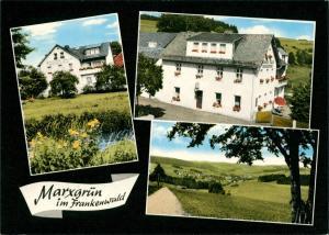 Marxgrün-Naila (Oberfranken) Gaststätte u. Pension A. Plank 1980