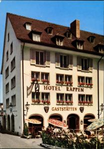 Freiburg im Breisgau HOTEL RAPPEN am Münster in Freiburg/Breisgau 1970