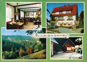 Osterode (Harz) Pension Gerda Inh. Grüneberg Obere Harzstraße, OT Lerbach  1983