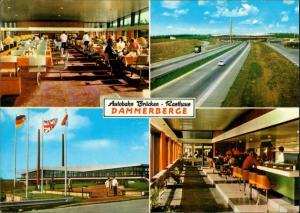 Damme (Dümmer b. Vechta)- Autobahn - Brückenrasthaus Dammer Berge 4 Bild 1978