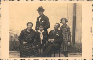 Ansichtskarte Ansichtskarte Mailand Familie Luigi Fousouni 1922