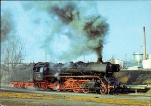 Ansichtskarte Güstrow Dampflokomotiven im Ostseebezirk: Lok BR 41 1982