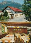 Oberstdorf (Allgäu) Gasthof Hotel Wilde Männle Außen-/Innenansicht 1960