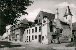 Bernkastel-Kues Berncastel-Cues Straßenpartie am Cusanushaus 1962