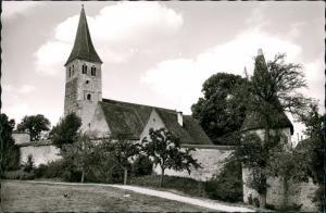Ansichtskarte Greding Kirche St. Martin aus dem 11. Jahrhundert 1962