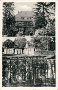 Ansichtskarte Grabow-Lüchow (Wendland) 3 Bild. Stadtansichten, Haus 1965