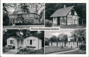 Ansichtskarte Grabow-Lüchow (Wendland) 4 Bild: Sandschloß Obergut 1967