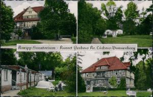 Ansichtskarte Grabow-Lüchow (Wendland) Kneipp Sanatorium - 4 Bild 1961