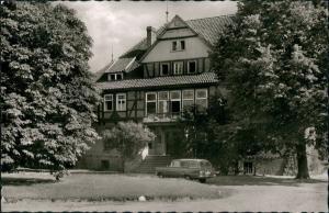 Ansichtskarte Grabow-Lüchow (Wendland) Kneipp-Sanatorium 1961