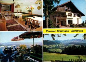 Sulzberg (Vorarlberg) Pension Schmuck in 6934 Sulzberg, Mehrbildkarte 1970