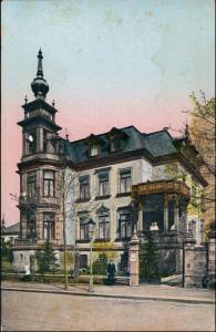 Südvorstadt-Dresden Altenzeller Straße Privatklinik Dr. Nahmmacher 1913