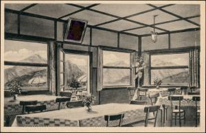 """Ansichtskarte Neubeuern Gasthaus und Café """"Zur Haschlalm"""" 1928"""