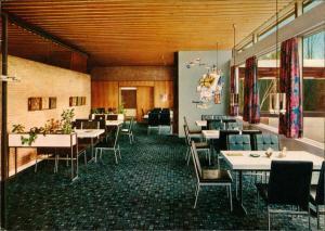 Autobahn Raststätte Buddikate Wald-Restaurant AB Hamburg-Lübeck 1972