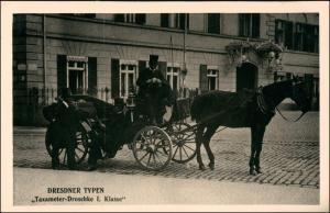 Dresden Dresdner Typen Taxameter Droschke I. Klasse 1926/1995 REPRO