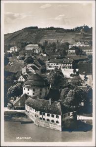 Postcard Marburg an der Drau Maribor Blick auf den Hang - Platz 1929