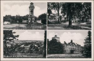 Ansichtskarte Bruck an der Leitha 4 Bild: Schloß, Stadt 1941