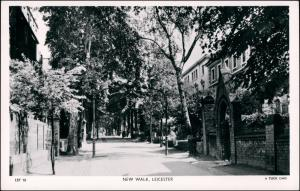 Postcard Leicester New Walk 1943