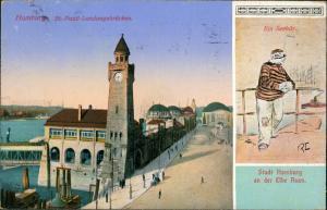 St. Pauli-Hamburg Landungsbrücken, Ein Seebär - Typen 2 Bild 1913