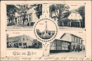 Zicher Neudamm (Neumark) Cychry Dębno Villa, Bahnhof b Königsberg Chojna 1909