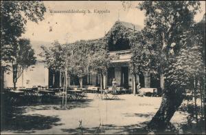 Ansichtskarte Kappeln (Schlei) Wassermühlenholz Restauration 1924