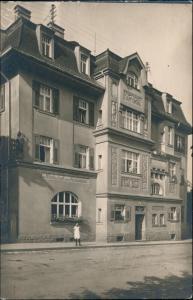 Wunsiedel (Fichtelgebirge) Wirtschaft zum Röslautal 1912 Privatfoto