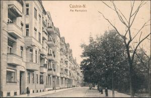 Postcard Küstrin Kostrzyn nad Odrą Marktplatz 1915