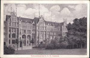 Ansichtskarte Hamburg Verbansgebäude DHB 1915