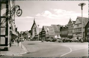 Ansichtskarte Stadthagen VW Käfer - Marktplatz 1962