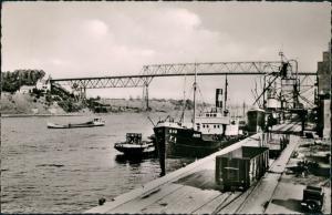 Ansichtskarte Holtenau-Kiel Holtenå Norhafen - Krahn, Dampfer 1960
