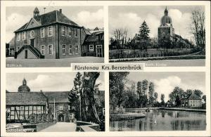 Fürstenau (LK Osnabrück) b. Berstebrück 4 Bild: Schloß Rathaus 1959