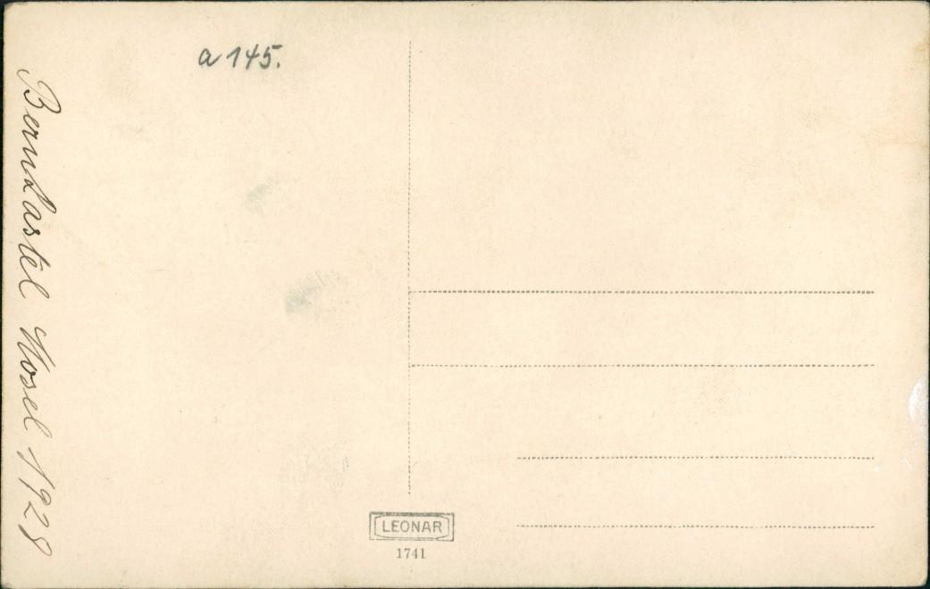 Bernkastel-Kues Berncastel-Cues Stadtblick - Anleger 1928 Privatfoto 1