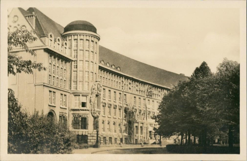 Ansichtskarte Leipzig Deutsche Bücherei 1954 0