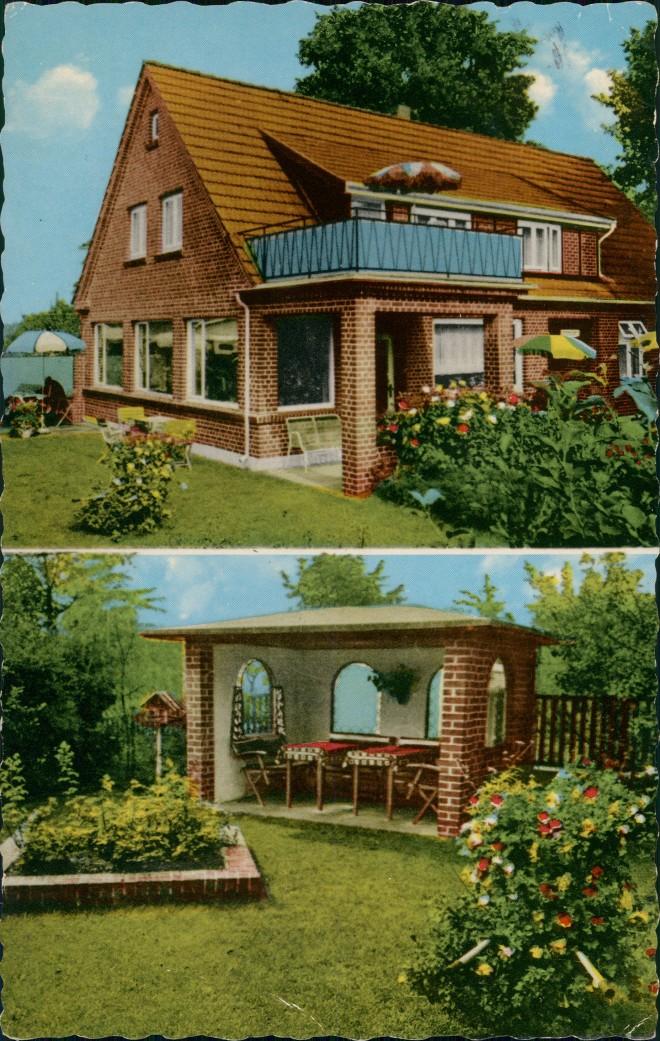 Ansichtskarte Hanstedt (Nordheide) Privat Pension Heidschnucke 1963 0
