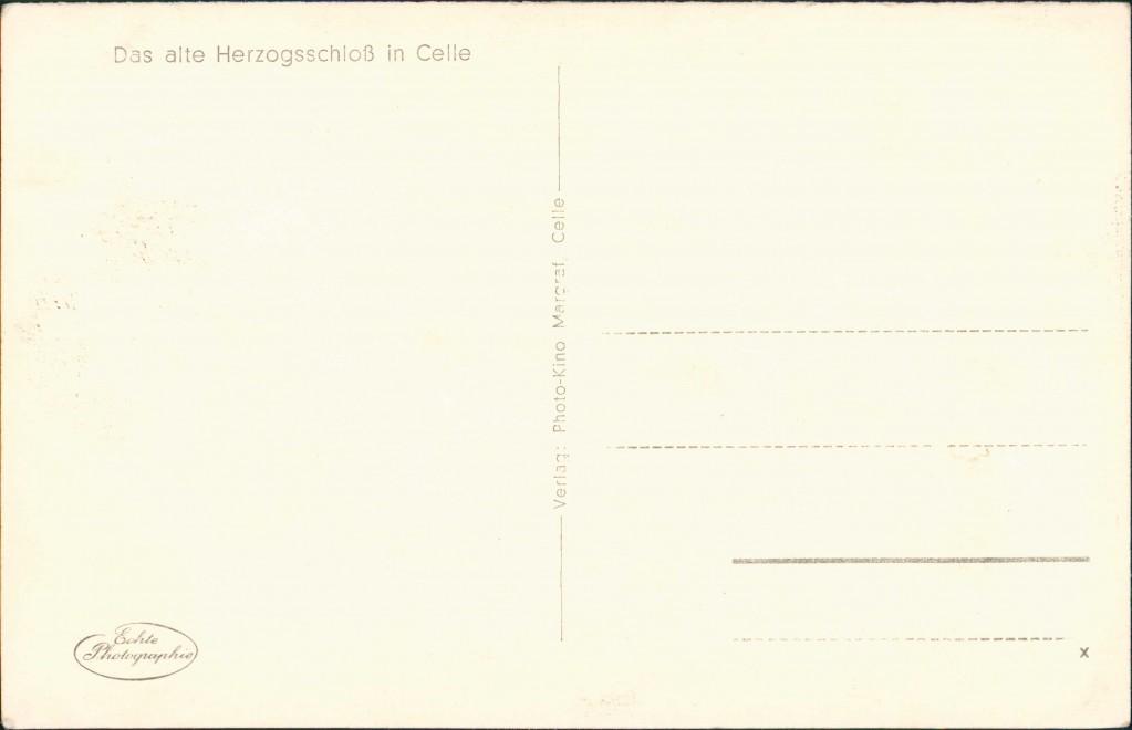 Celle SchlossBlick vom Rang auf die Bühne mit Bühnenaufbau. 1932 1